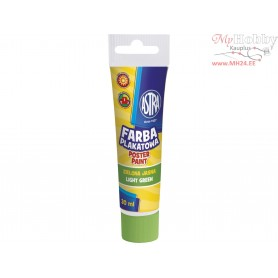 Poster paint ASTRA 30 ml tube - light green