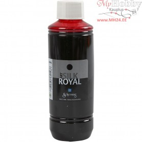 Silk Royal Paint, red, 250ml