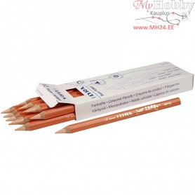 Super Ferby 1 colouring pencils, lead: 6,25 mm, L: 18 cm, light skin colour, 12pcs