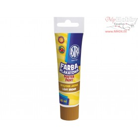 Poster paint ASTRA 30 ml tube - light brown