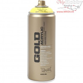 Spray paint, yellow, 400ml