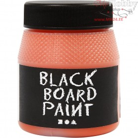 Blackboard Paint, orange, 250ml