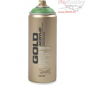 Spray paint, green, Green, 400ml