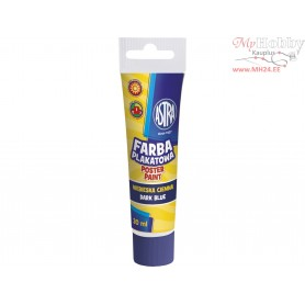 Poster paint ASTRA 30 ml tube - dark blue