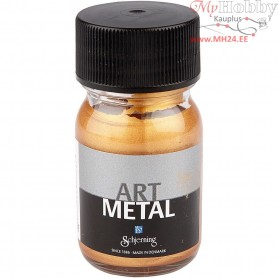 Art Metalic Paint, medium gold, 30ml