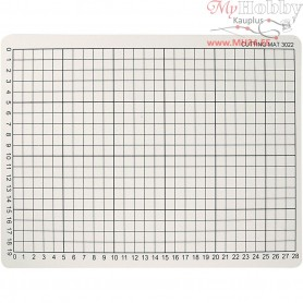 Cutting Mat, size 22x30 cm, thickness 3 mm, 1pc