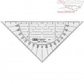 Protractor, W: 16 cm, 1pc