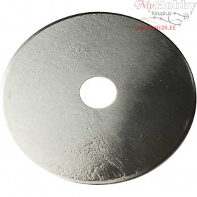 Rotary Blade, D: 45 mm, hole size 9 mm, Straight, 1pc