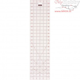 "Quilting ruler, size 16x62 cm, size 6x24 "" , 1pc"