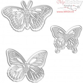 Die Cut, size 12,1x11,8 cm, butterfly, 1pc