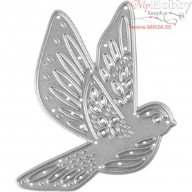 Die Cut and Embossing Folder, size 51,x6,8 cm, bird, 1pc