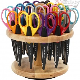 Scissors and Rack, L: 16,50 cm, 1set