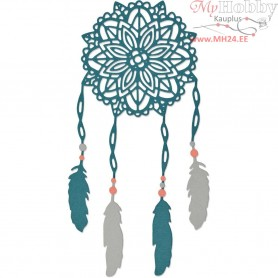 Sizzix Thinlits Die, size 0,32x0,32 - 7,62x7,62 cm, dream catcher, 1pc,