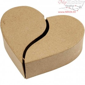 Heart Box, D: 16,5 cm, H: 5 cm, 1pc