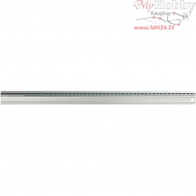 Safety Ruler, L: 50 cm, 1pc