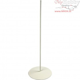 Metal Stand, D: 5 cm, H: 15 cm, 1pc