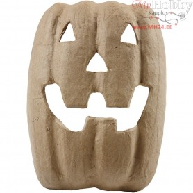 Halloween Mask, H: 21,5 cm, W: 17 cm, 1pc
