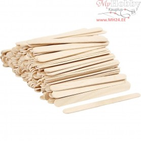 Ice Lolly Sticks, midi, L: 11,5 cm, W: 10 mm, birch, 200pcs