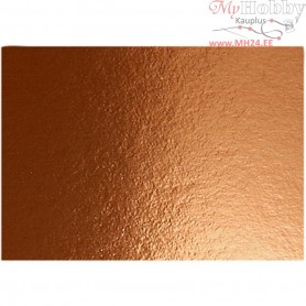 Metallic Foil Card, A4 210x297 mm,  280 g, copper, 10sheets
