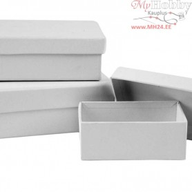 Rectangular Boxes, 18pcs