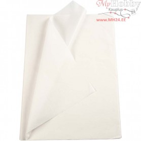 Tissue Paper, sheet 50x70 cm,  14 g, white, 25sheets