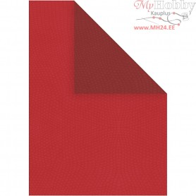 Paper, A4 210x297 mm,  100 g, red/claret, 20sheets