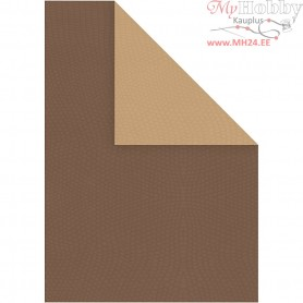 Card, A4 210x297 mm,  250 g, brown/sand, 10sheets