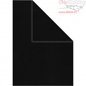 Card, A4 210x297 mm,  250 g, black, 10sheets