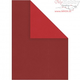 Card, A4 210x297 mm,  250 g, claret/red, 10sheets
