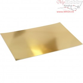 Metallic Foil Card, A2 420x600 mm,  280 g, gold, 10sheets