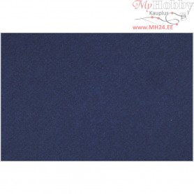 French Card, sheet 500x650 mm,  160 g, Indigo Blue, 1sheet