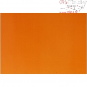 Glazed Paper, sheet 32x48 cm,  80 g, orange, 25sheets