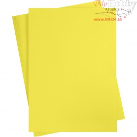 Card, sheet 497x697 mm,  270-300 g, sun yellow, 10sheets