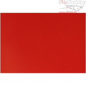 Glazed Paper, sheet 32x48 cm,  80 g, red, 25sheets