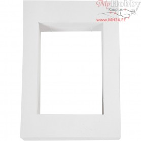Picture Mount, size 198x280 mm, carving: 135x190 mm, white, 500 g, 100pcs