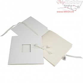 Book With Ribbon, size 20x20 cm,  190 g, 1pc