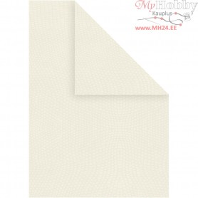 Card, A4 210x297 mm,  250 g, off-white, 10sheets