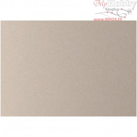 Kraft Cardboard, sheet 70x100 cm,  2200 g, 3 mm, 10sheets, thickness 3 mm