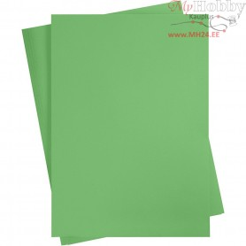 Card, sheet 497x697 mm,  270-300 g, grass green, 10sheets