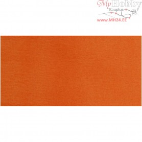 Crepe Paper,  50x250 cm, orange, 10pleats