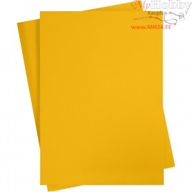 Card, sheet 497x697 mm,  270-300 g, mandarin, 10sheets