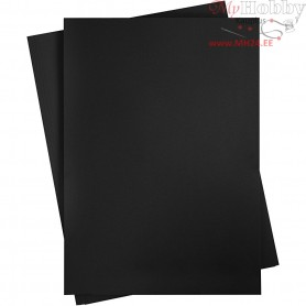 Card, sheet 497x697 mm,  270-300 g, coal black, 10sheets
