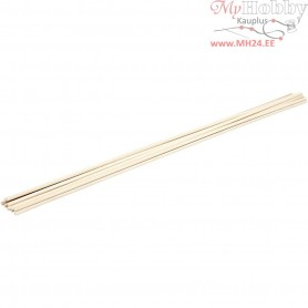 Stick, L: 60 cm, D: 6 mm, beech, 10pcs