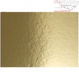 Metallic Foil Card, A4 210x297 mm,  280 g, gold, 10sheets