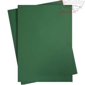 Card, sheet 497x697 mm,  270-300 g, fir green, 10sheets