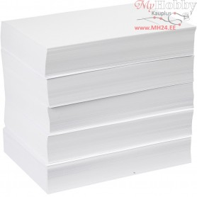 Drawing Paper, A4 210x297 mm,  80 g, white, 5x500sheets