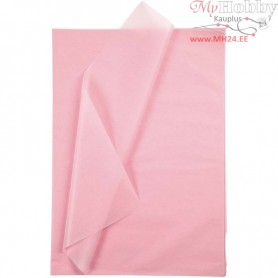 Tissue Paper, sheet 50x70 cm,  14 g, light red, 25sheets