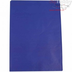 Tissue Paper, sheet 50x70 cm,  14 g, blue, 25sheets