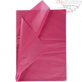 Tissue Paper, sheet 50x70 cm,  14 g, pink, 25sheets