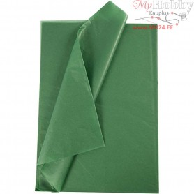 Tissue Paper, sheet 50x70 cm,  14 g, green, 25sheets